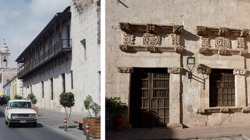 maisons coloniales Arequipa