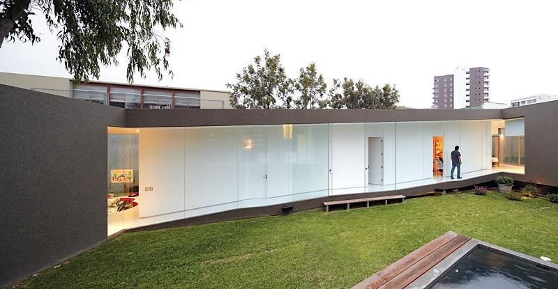 Maison en beton elegant projets with maison en beton it - Maison contemporaine en beton karaka bay en nouvelle zelande ...