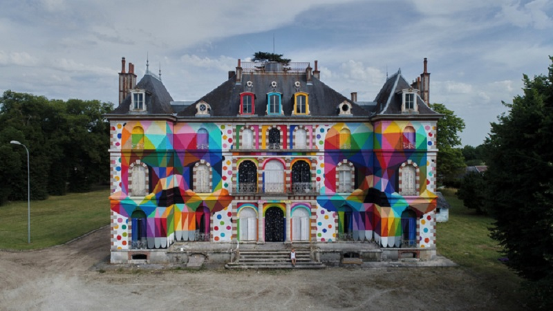 chateau pop france