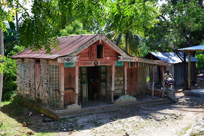 Les maisons rurales d 39 ha ti et le lakou for Maison moderne haiti