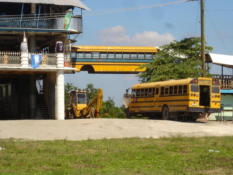 maison bus honduras