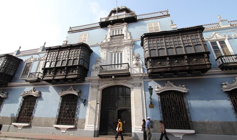 maison coloniale à lima
