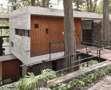 maison contemporaine guatemala