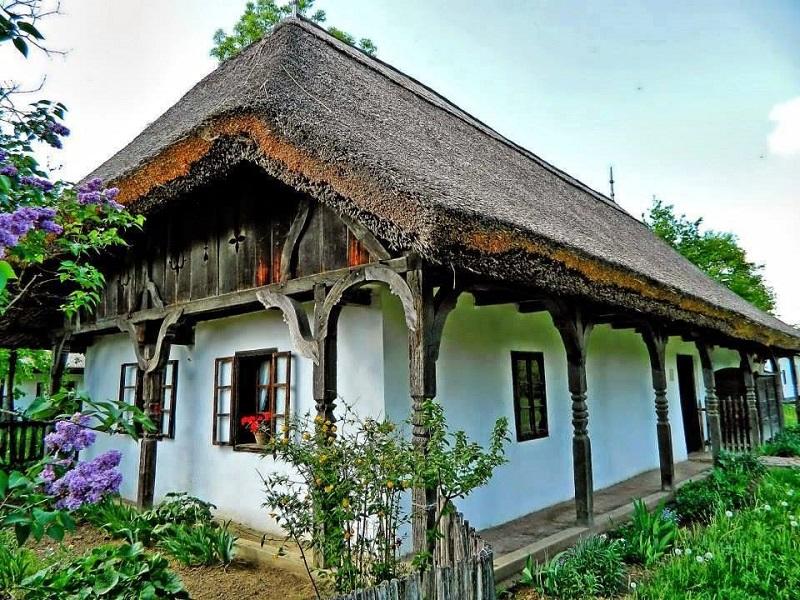 maison traditionnelle de hongrie