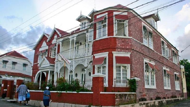 maison georgienne jamaique