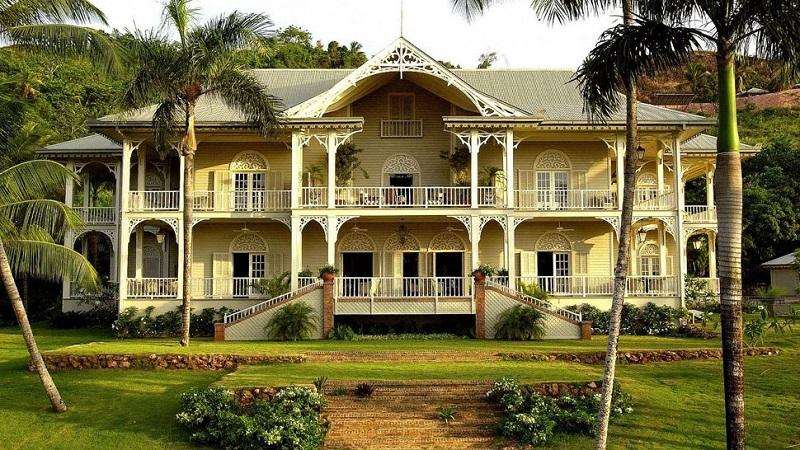 Superbe maison de style victorien en République Dominicaine