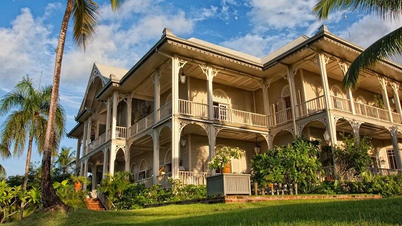 Superbe maison de style victorien en r publique dominicaine for Architecture victorienne