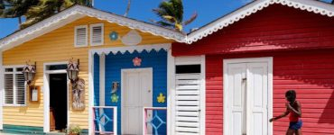 maisons colorées las terrenas