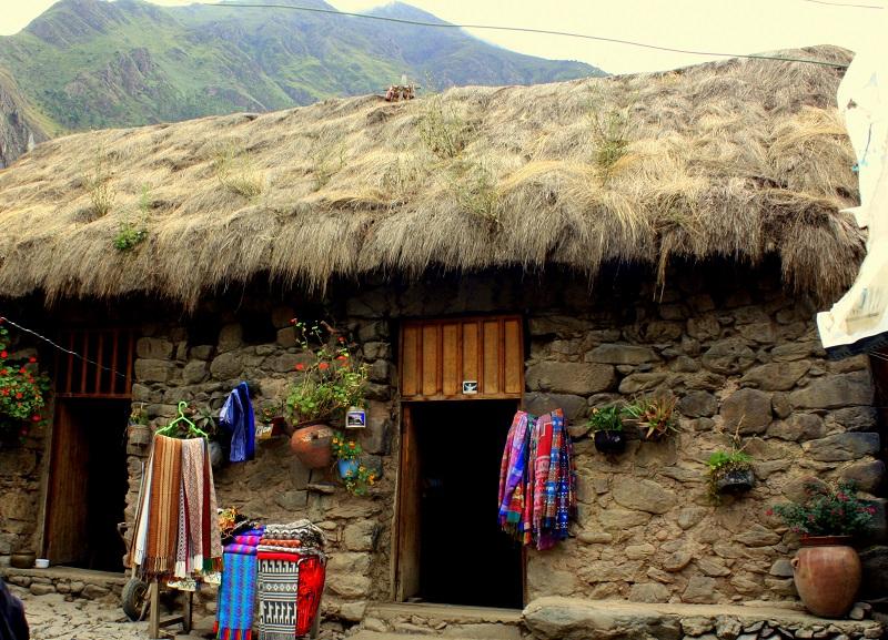 ollantaytambo maisons