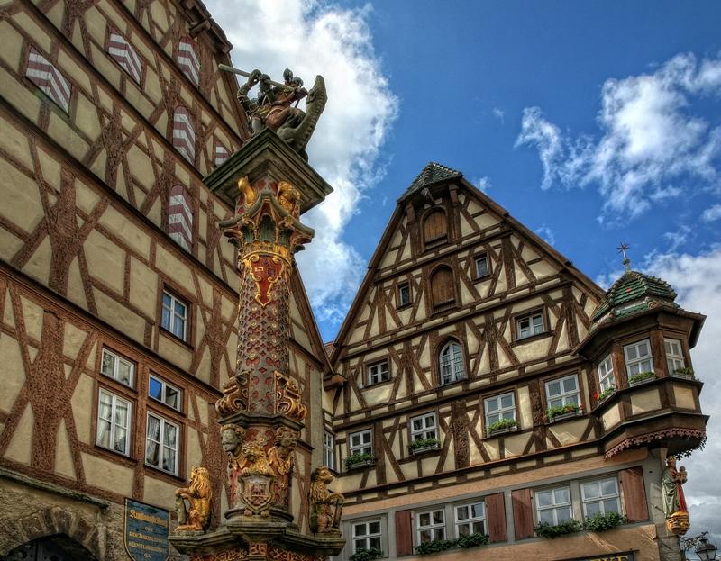 maison colombage rothenburg