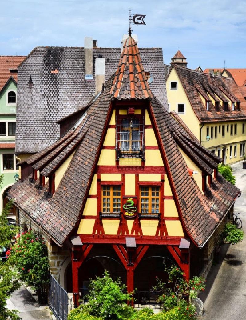 maison à colombage rothenburg