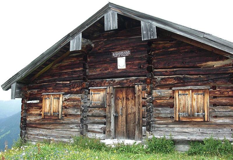 hutte wilderness autriche