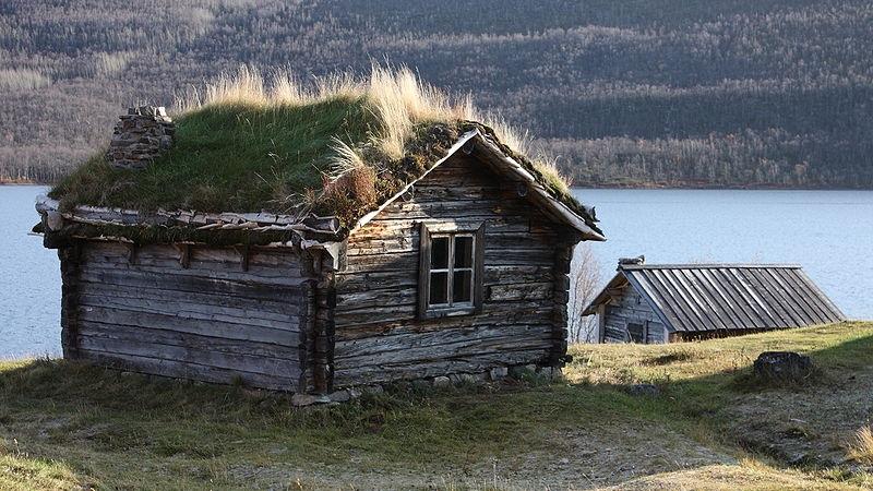hutte wilderness en finlande