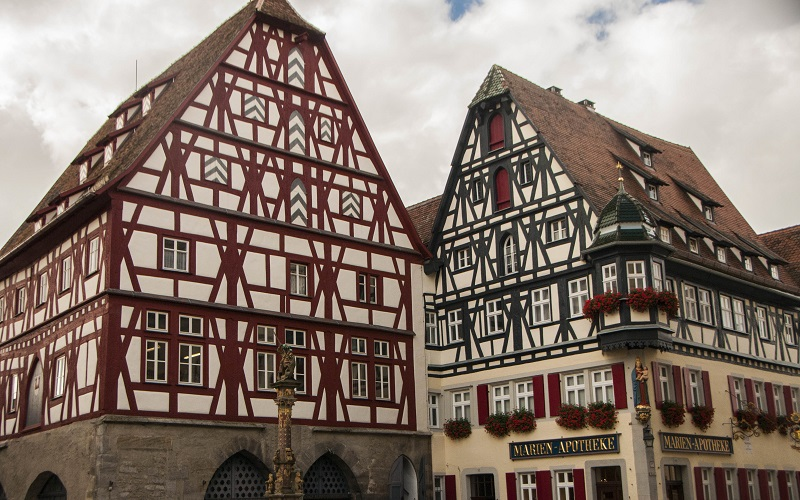 maison colombages rothenburg