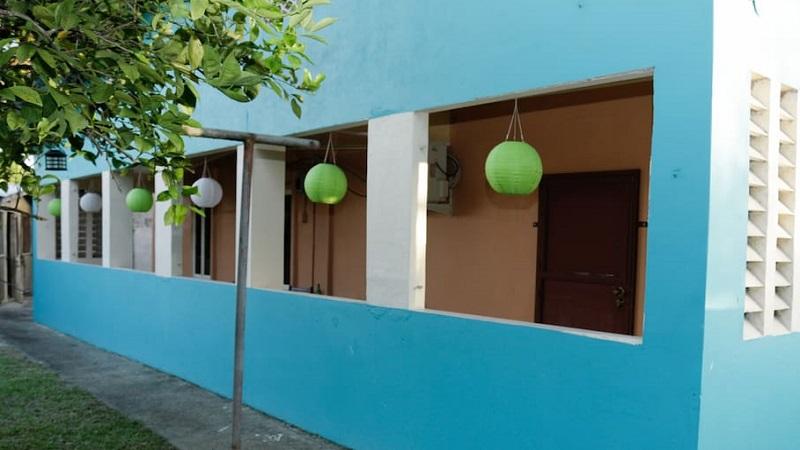 maison colorée arima