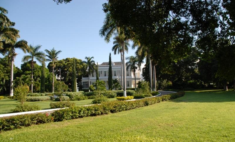 La maison de plantation Devon House à Kingston