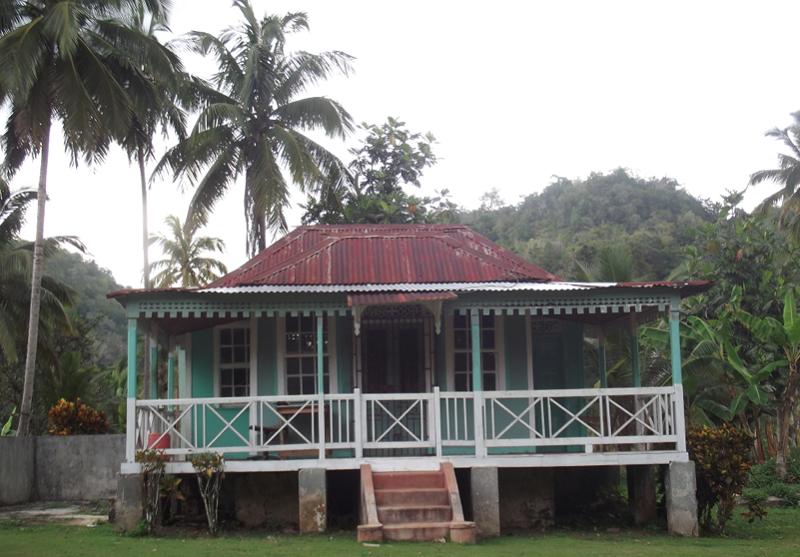 maison typique jamaique