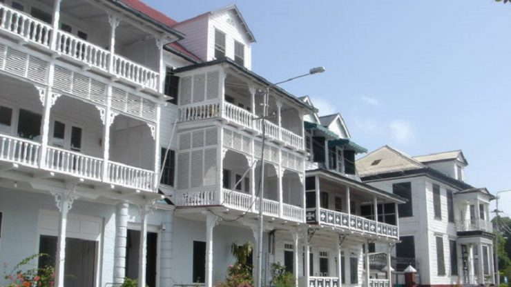maisons coloniales paramaribo