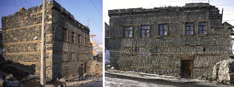 maisons traditionnelles de kars