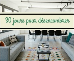 désencombrer sa maison