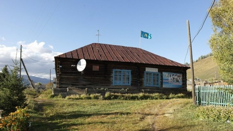 village rural kazahkstan