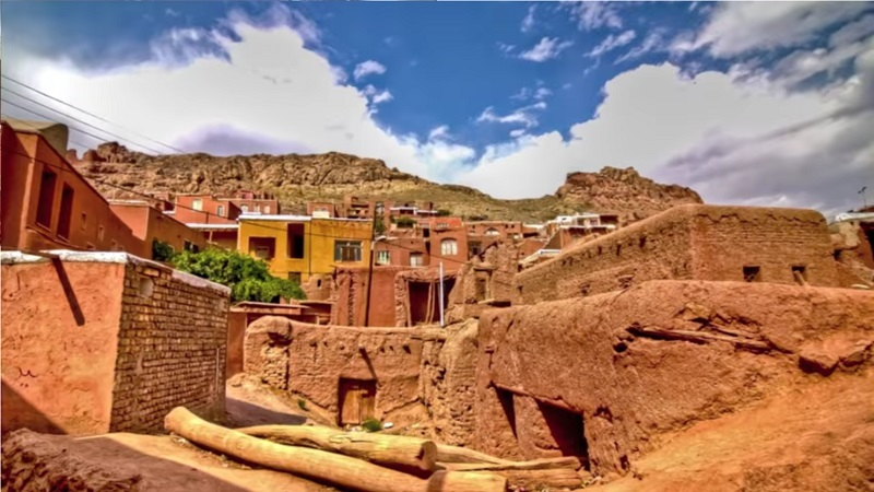 abyaneh maisons