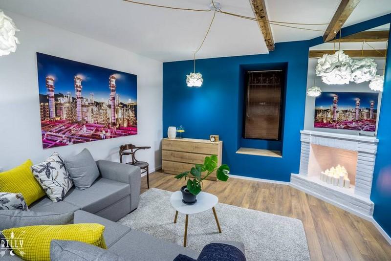 Il est situé au cœur de lune des zones les plus authentiques de tbilissi voir les maisons traditionnelles de tbilissi cest un bel appartement de 50