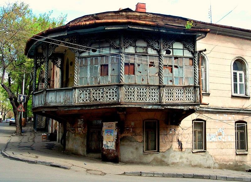 les balcons de tbilissi