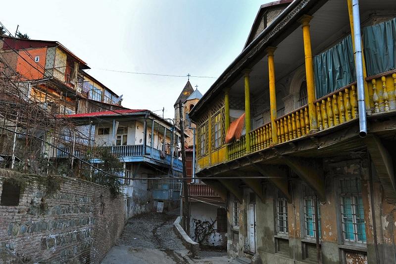 balcons de tbilissi