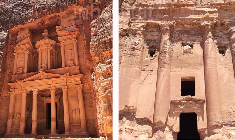 batiments désert jordanie