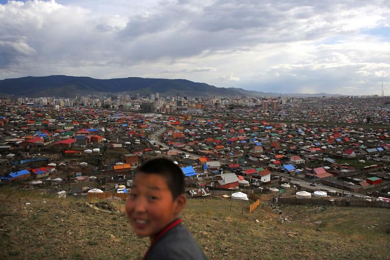 bidonville mongolie