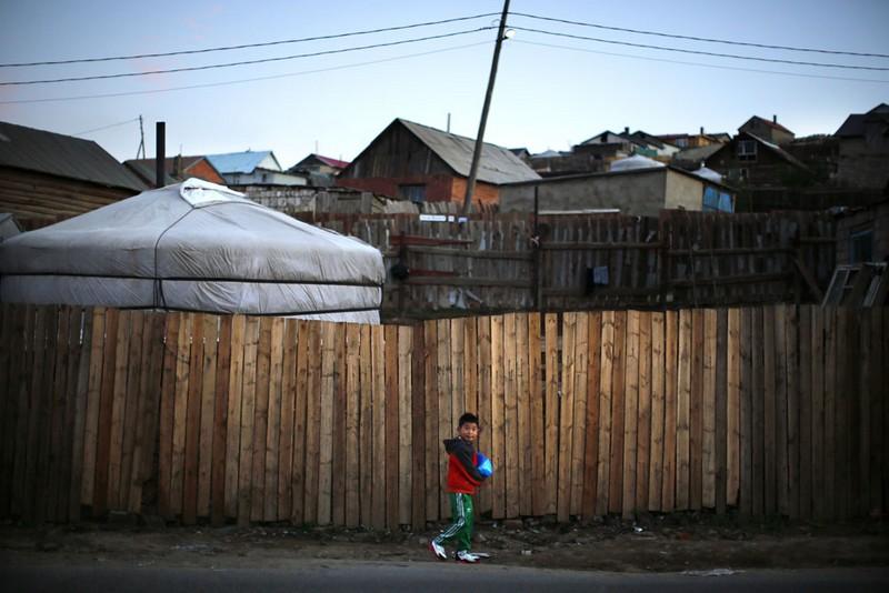 bidonvilles mongolie