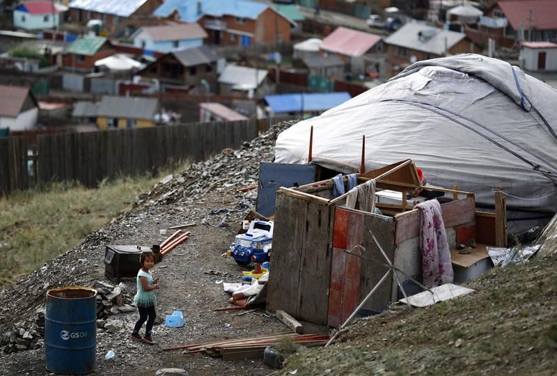 mongolie bidonville
