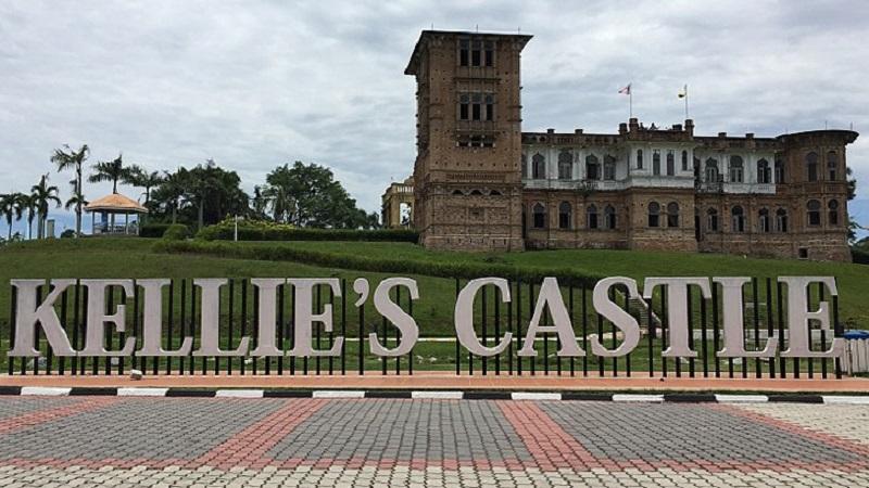 chateau de kellie malaisie