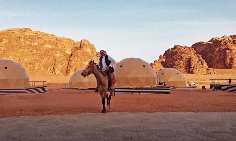 domes désert jordanie