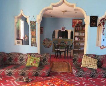 intérieur bédouin traditionnel