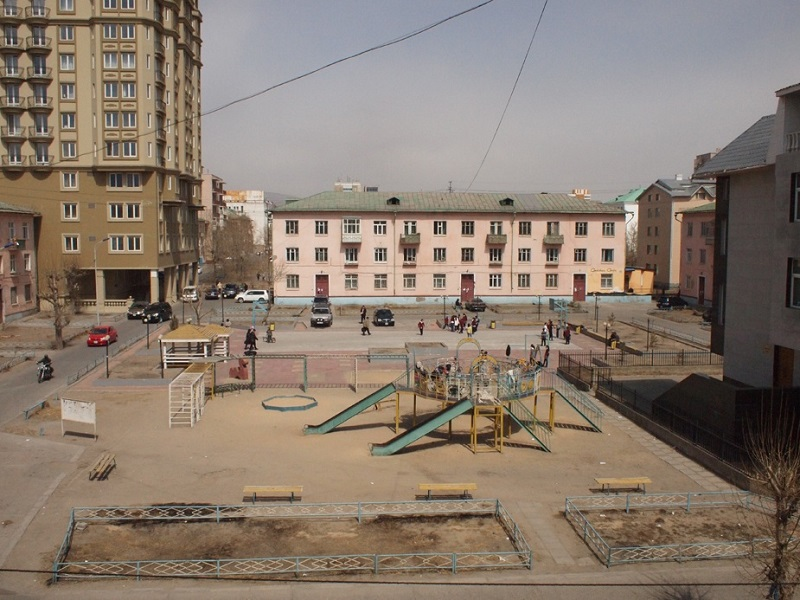 immeubles sovietiques oulan bator