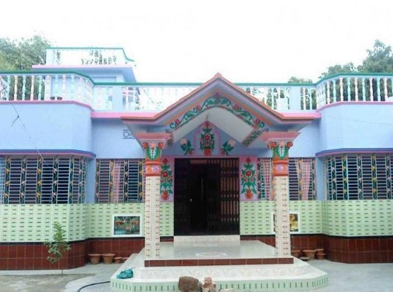Une magnifique maison color e au bangladesh for Bangladeshi house image