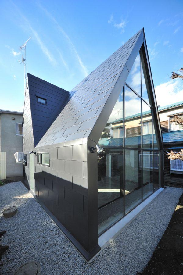 une maison japonaise alliant traditionnel et moderne