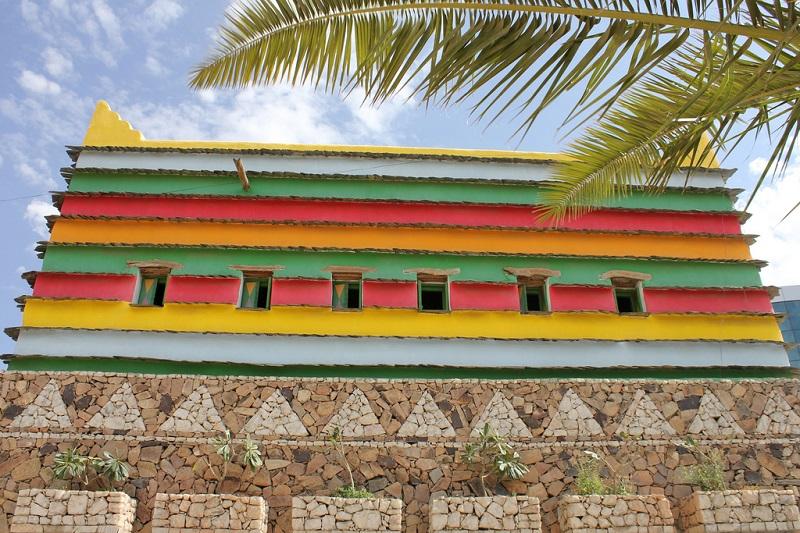 maison asir colorée