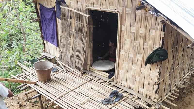 Les maisons en bambou du Bangladesh