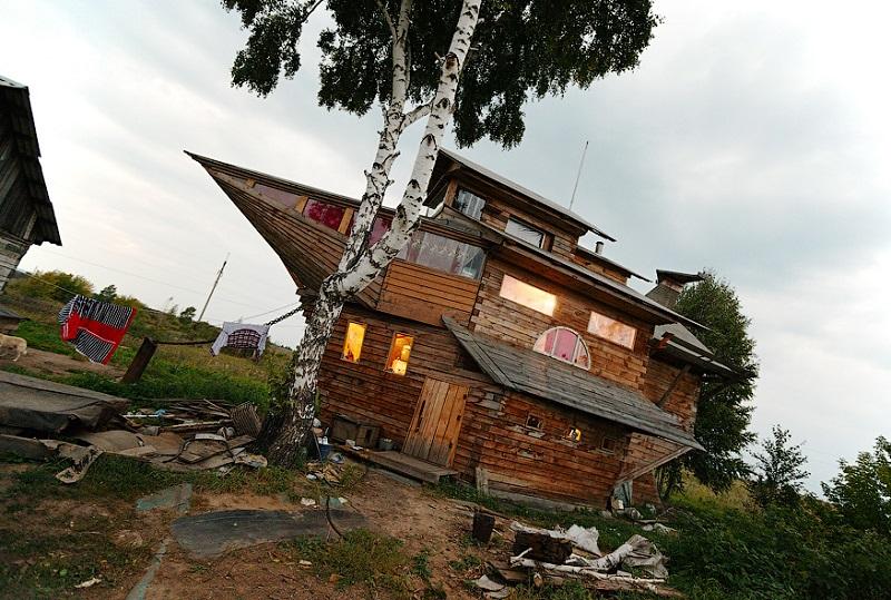 maison bateau russie