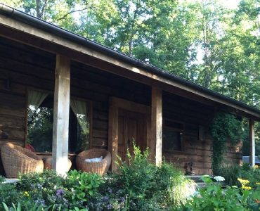 maison bois foret chili
