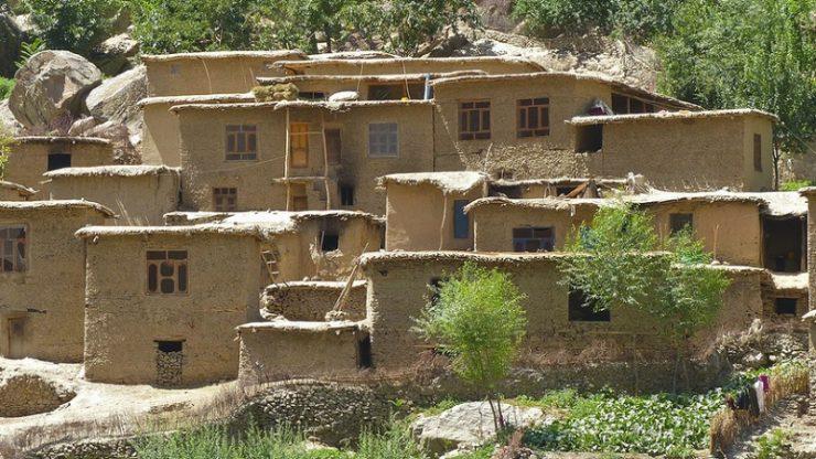 maison boue afghanistan