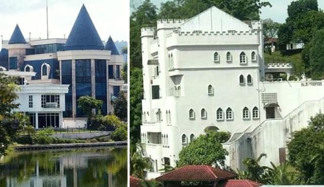 maison chateau malaisie