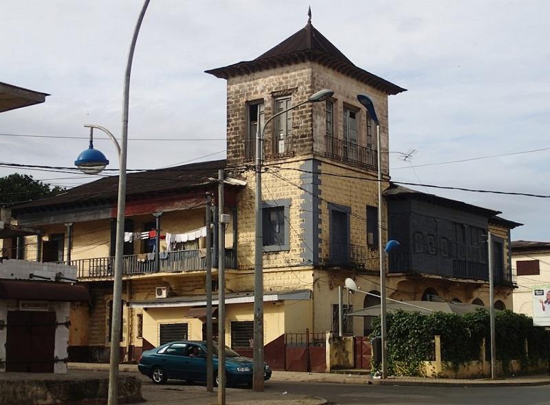 maison coloniale sur bioko