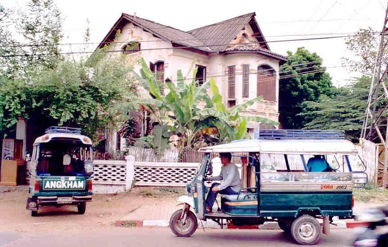 maison coloniale vientiane