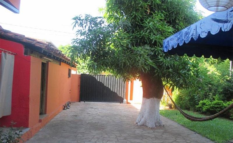 maison colorée asuncion