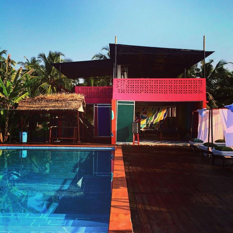 maison colorée lagos