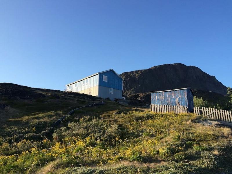 maison colorée qaarsormiut